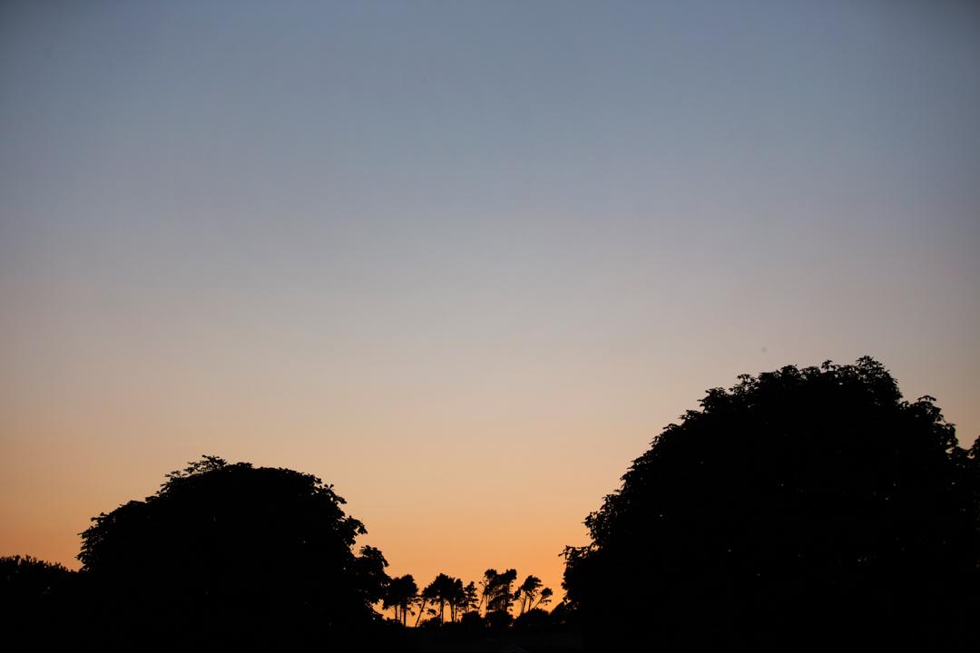 dartmouth sun set