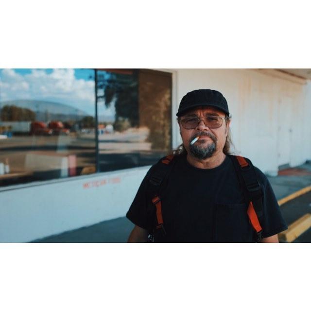 Marcus. Crew member portrait in the Mojave Desert | #soundguys #California #x100t