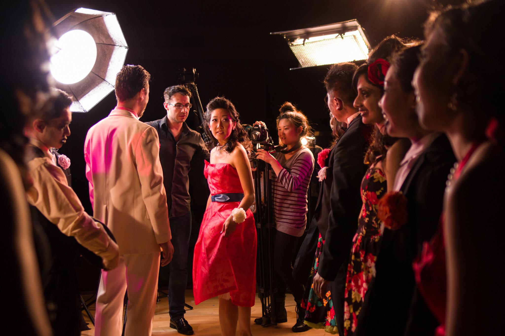 - Cynthia Lin Music Video Shoot