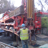 Drilling of Bore hole