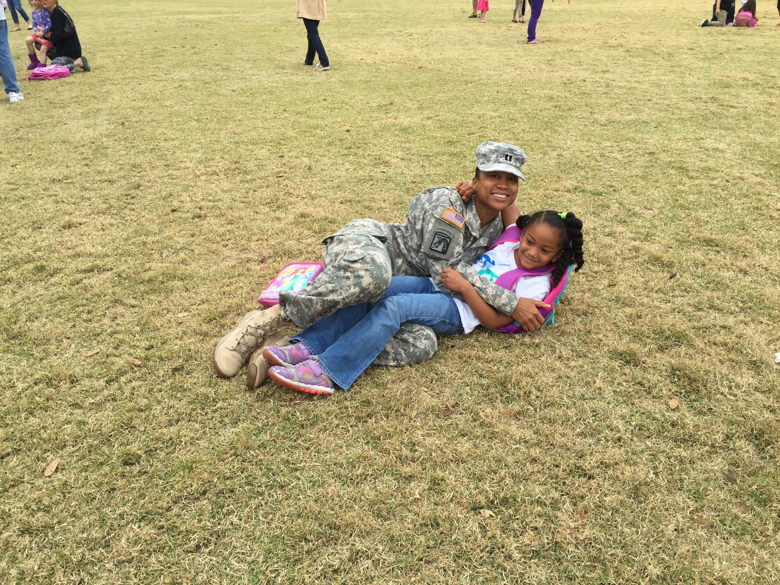 Army Mom Maxine Reyes