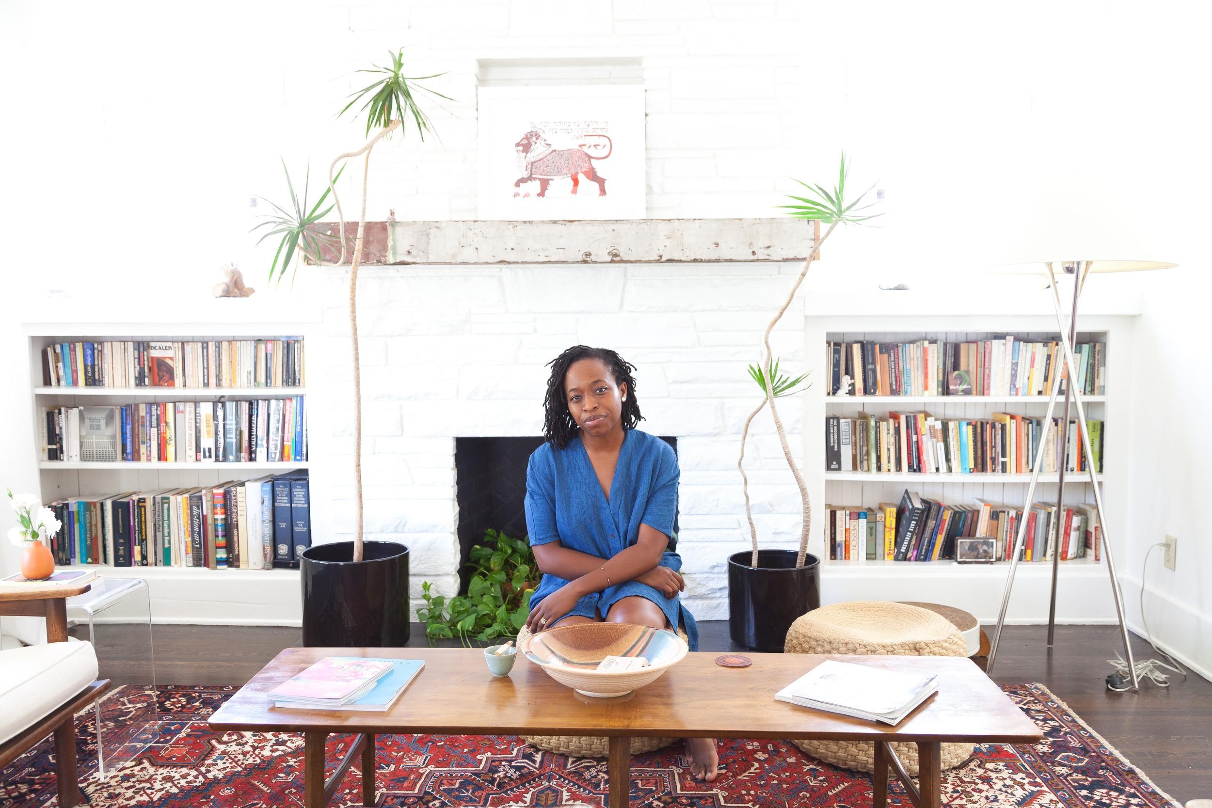 Erica Chidi Cohen, founder of The Mama Circle. Photo credit:    Lauren Moore