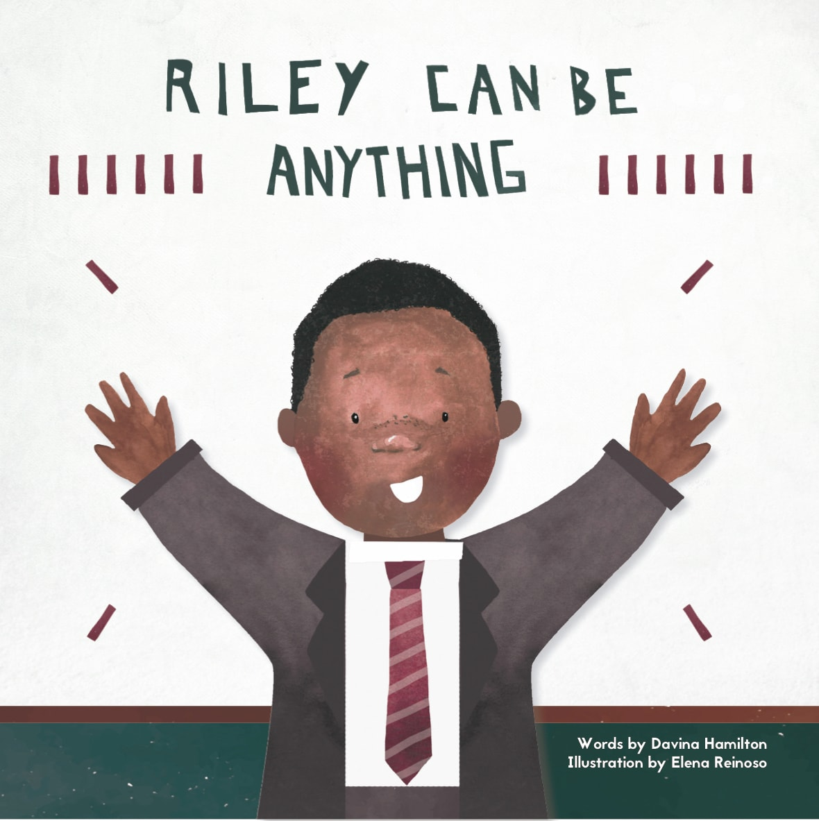 The cover of Davina Hamilton's  Riley Can Be Anything.
