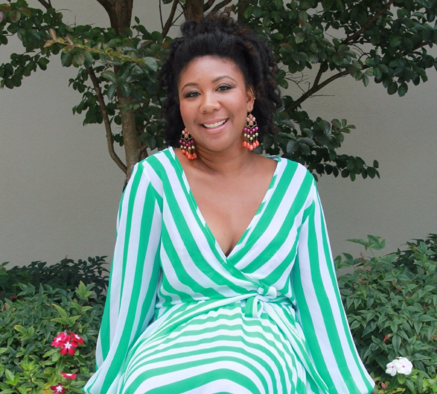 Ariane Williams, author of  Jamie Loves Her Natural Hair.