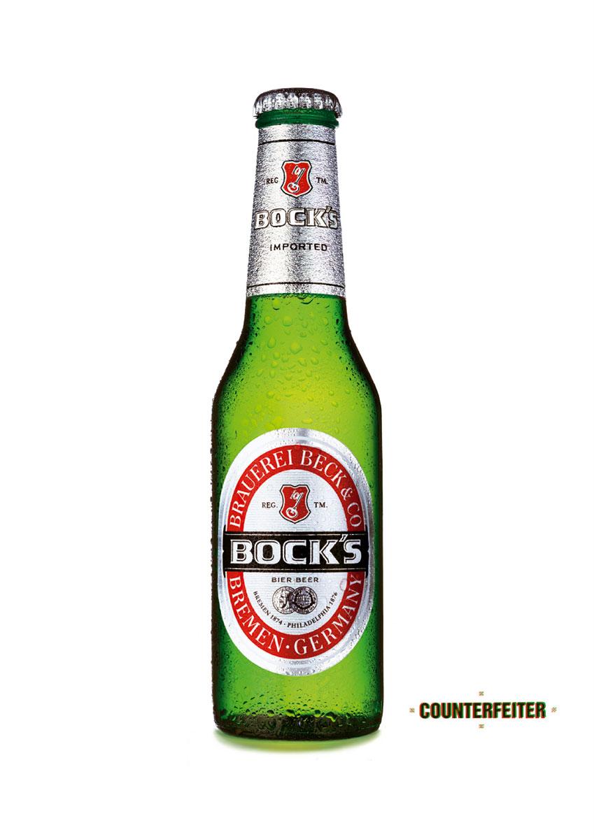 Becks | Poster | Counterfeiter