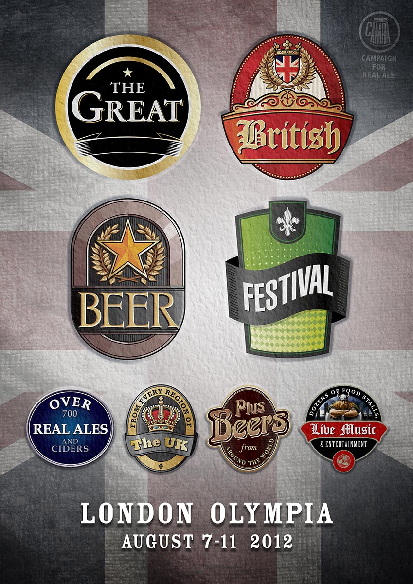 CAMRA | Great British Beer Festival | Poster