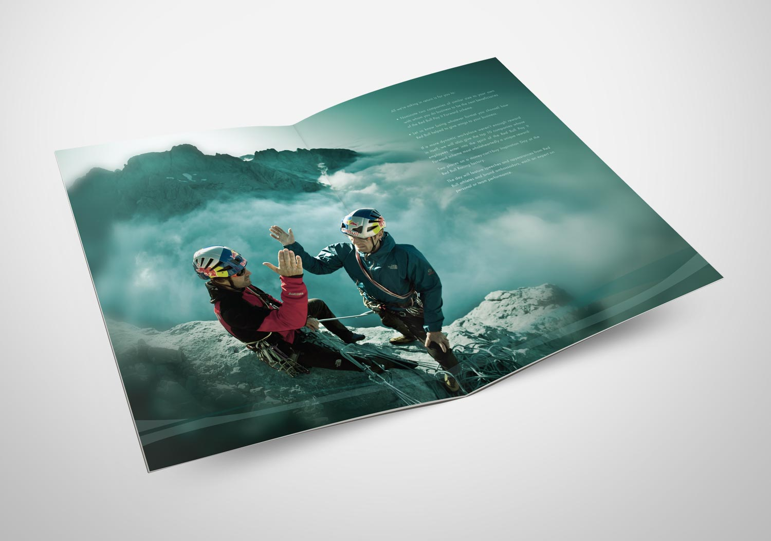 Red Bull | Pay It Forward | Brochure Spread | 2