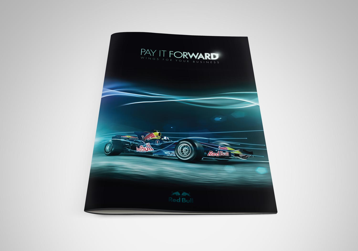 Red Bull | Pay It Forward | Brochure Cover