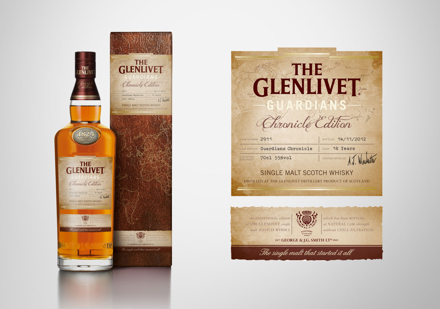 The Glenlivet | Chronicle Edition Bottle