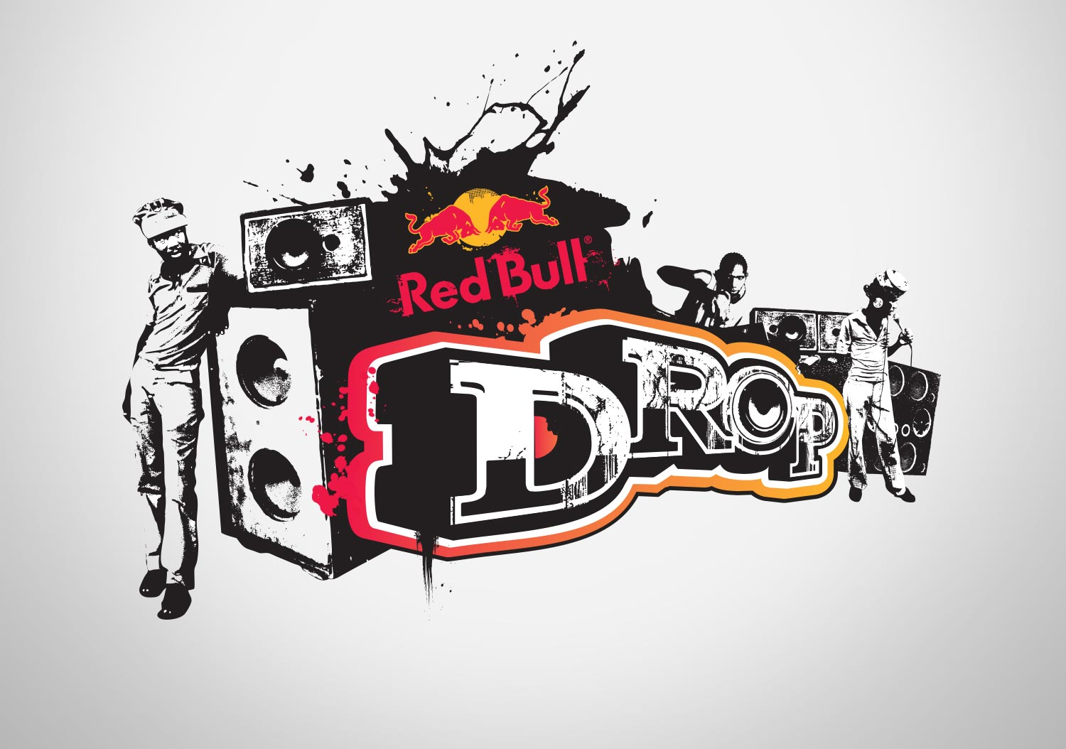 Red Bull | Drop | Event logo