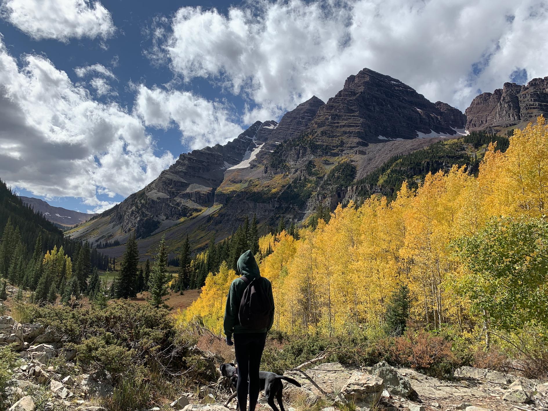 Maroon Bells in Colorado