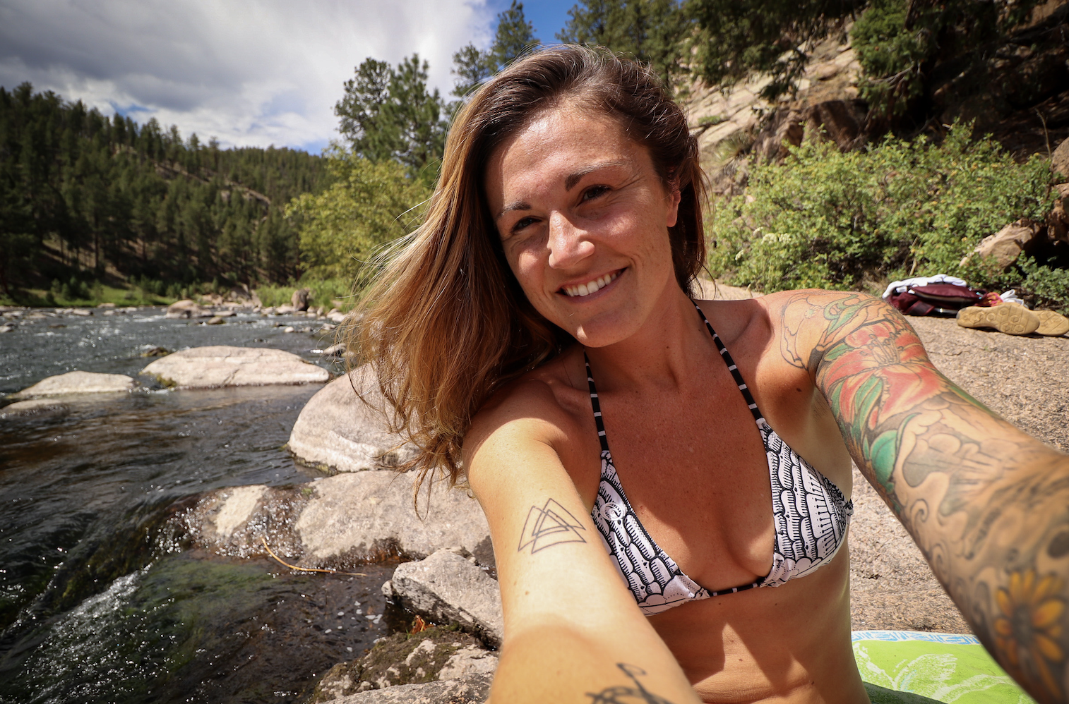 Summer at Cheesman Canyon in Colorado