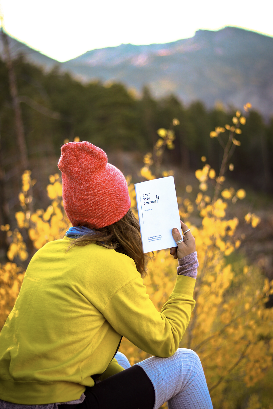 """Lauren Dow is the author of """"Your Wild Journal"""" and an advocate for mental health."""