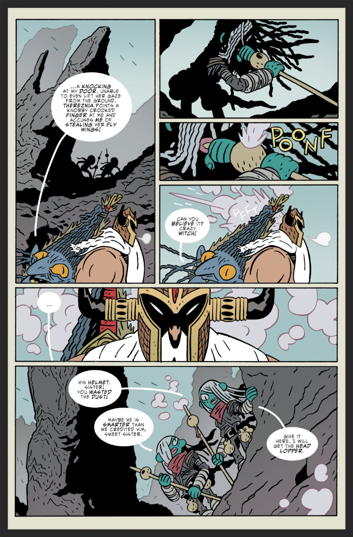 Preview Pages from Head Lopper #3