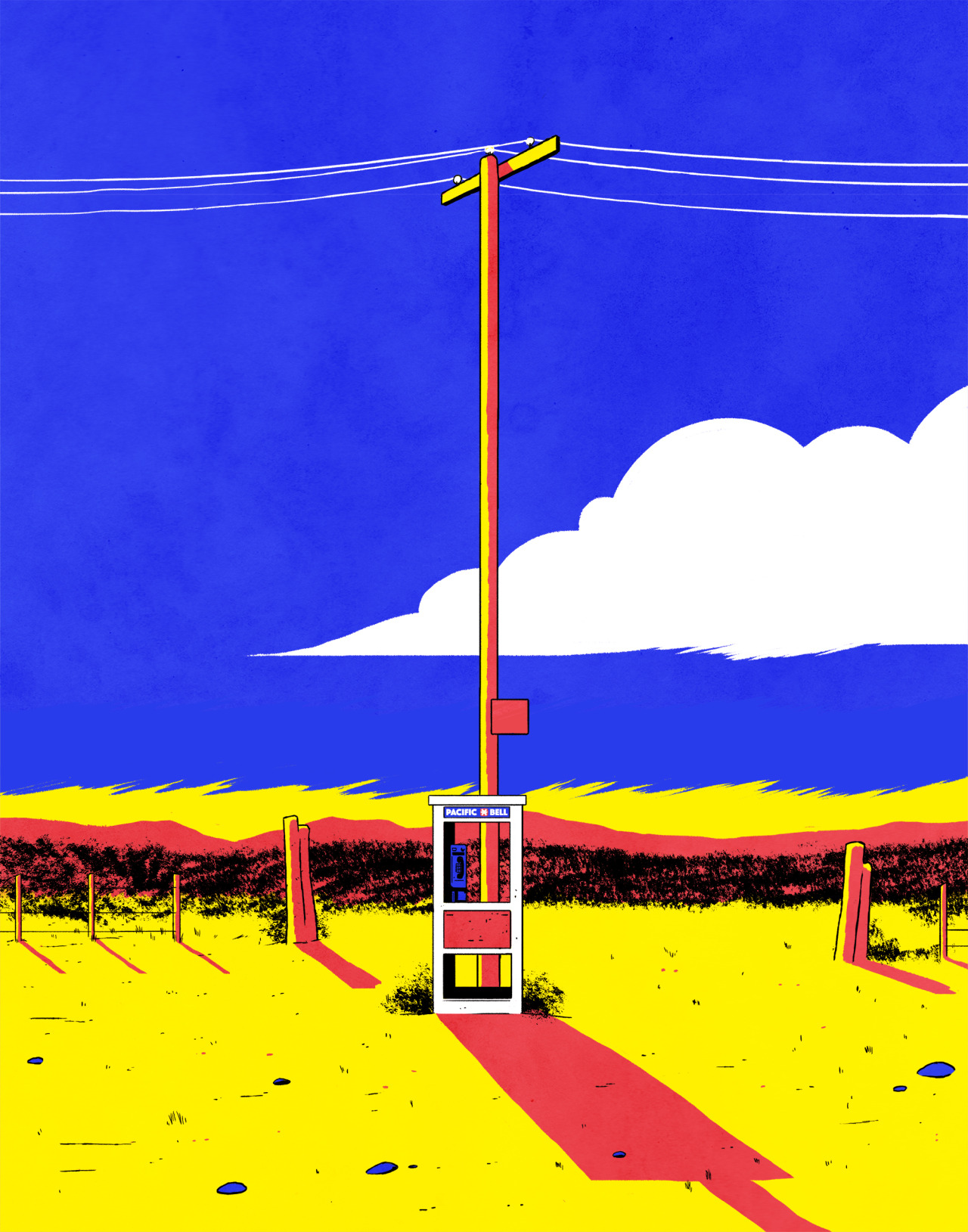 The Mojave Phone Booth by Tyler