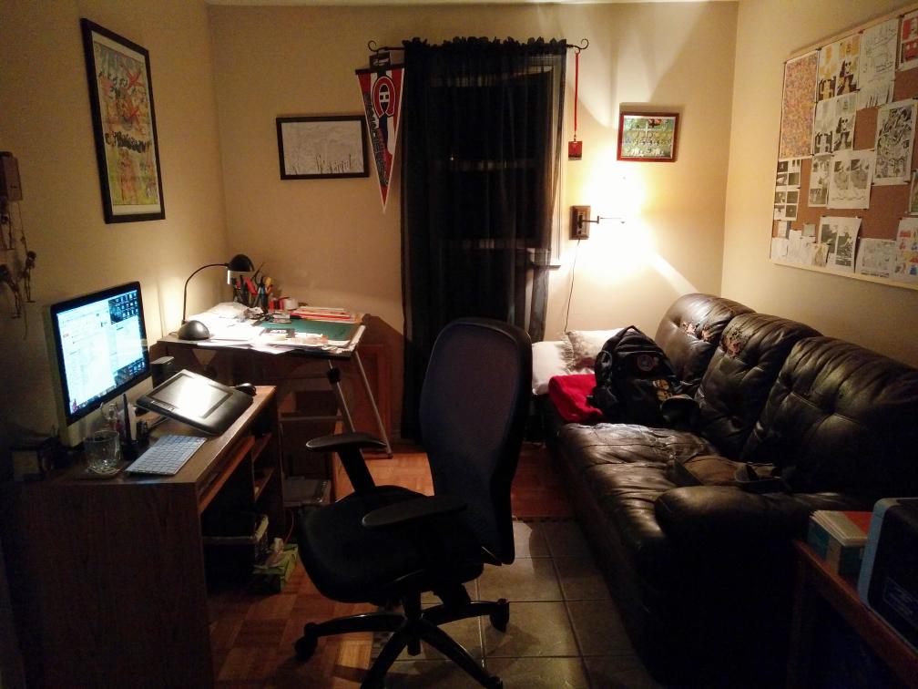 Tyler's workspace