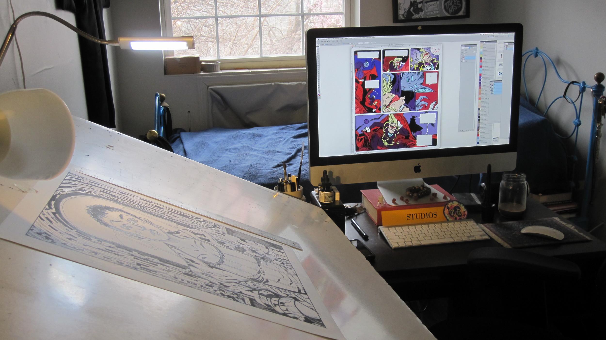 Wyeth's Workspace