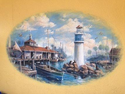 Seaworld Mural I