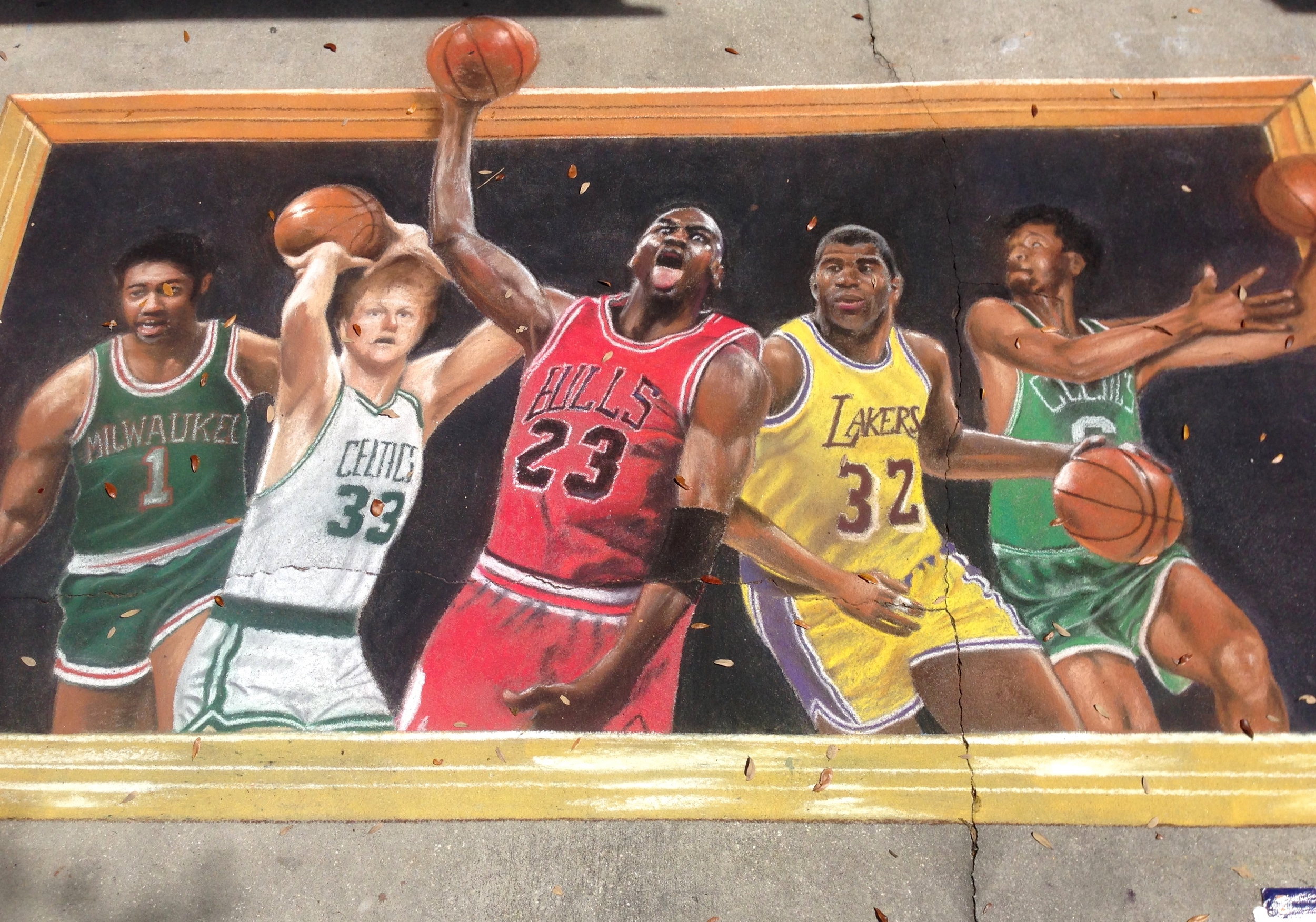 2D Chalk Art: The Greats