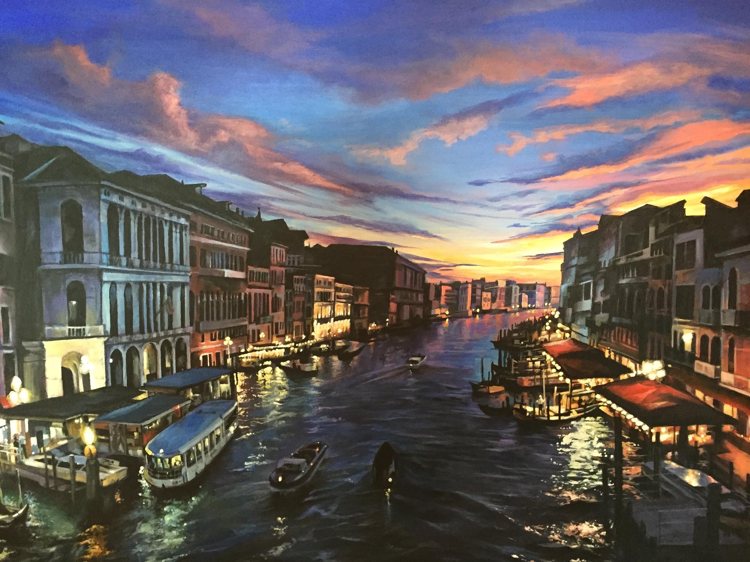"""Venice by Night"""