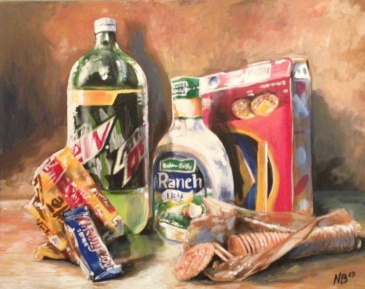 """""""Junk Food Still Life"""""""