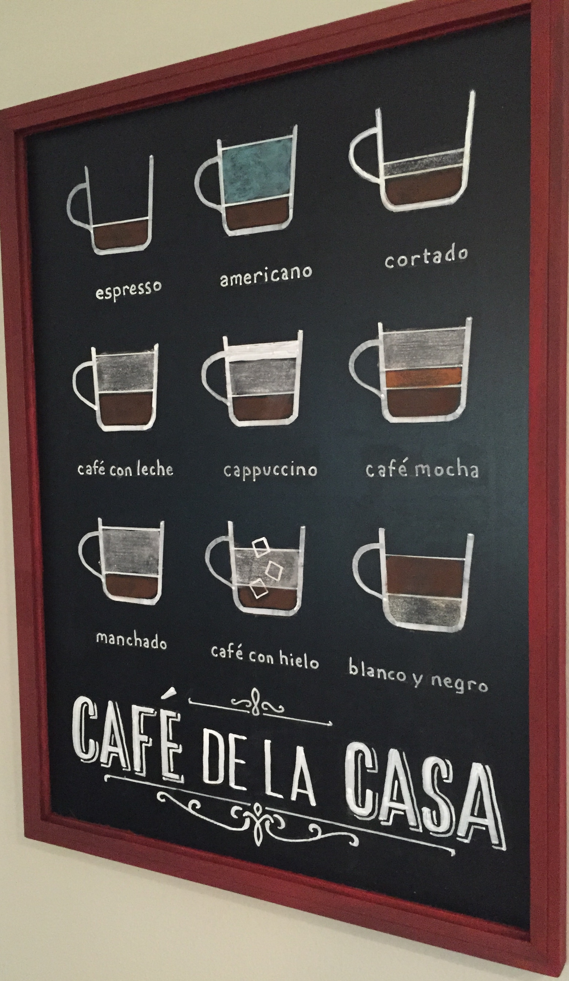 """""""Cafe de la Casa"""""""