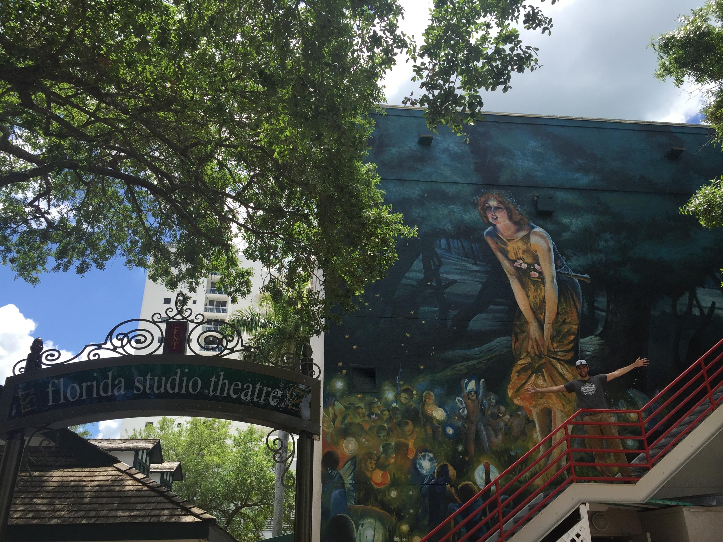 Florida Studio Theatre Mural IV