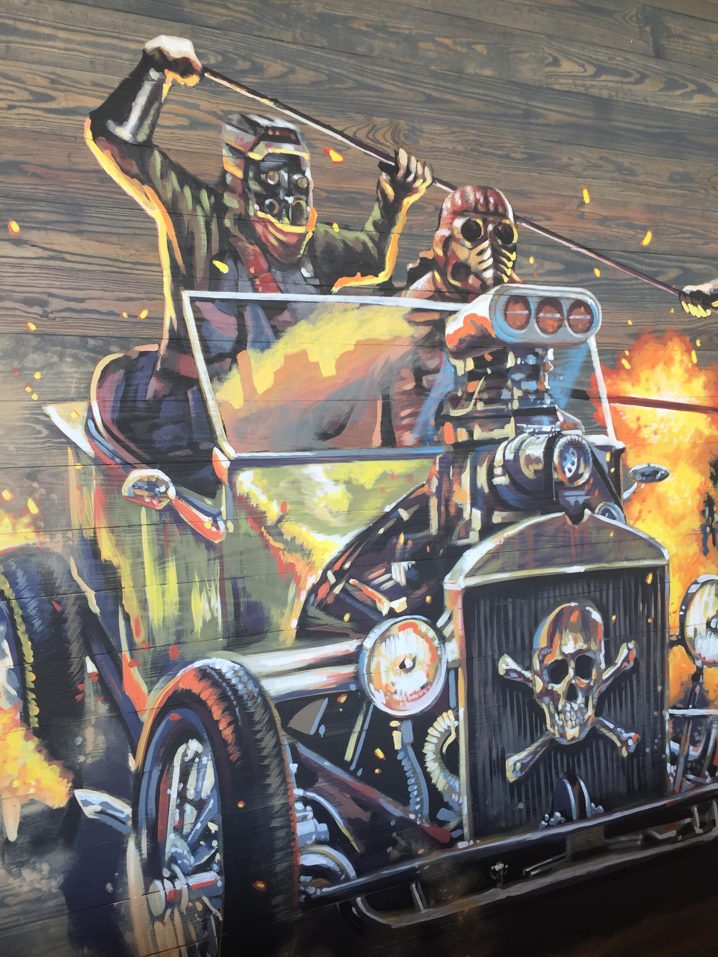 Mural Closeup