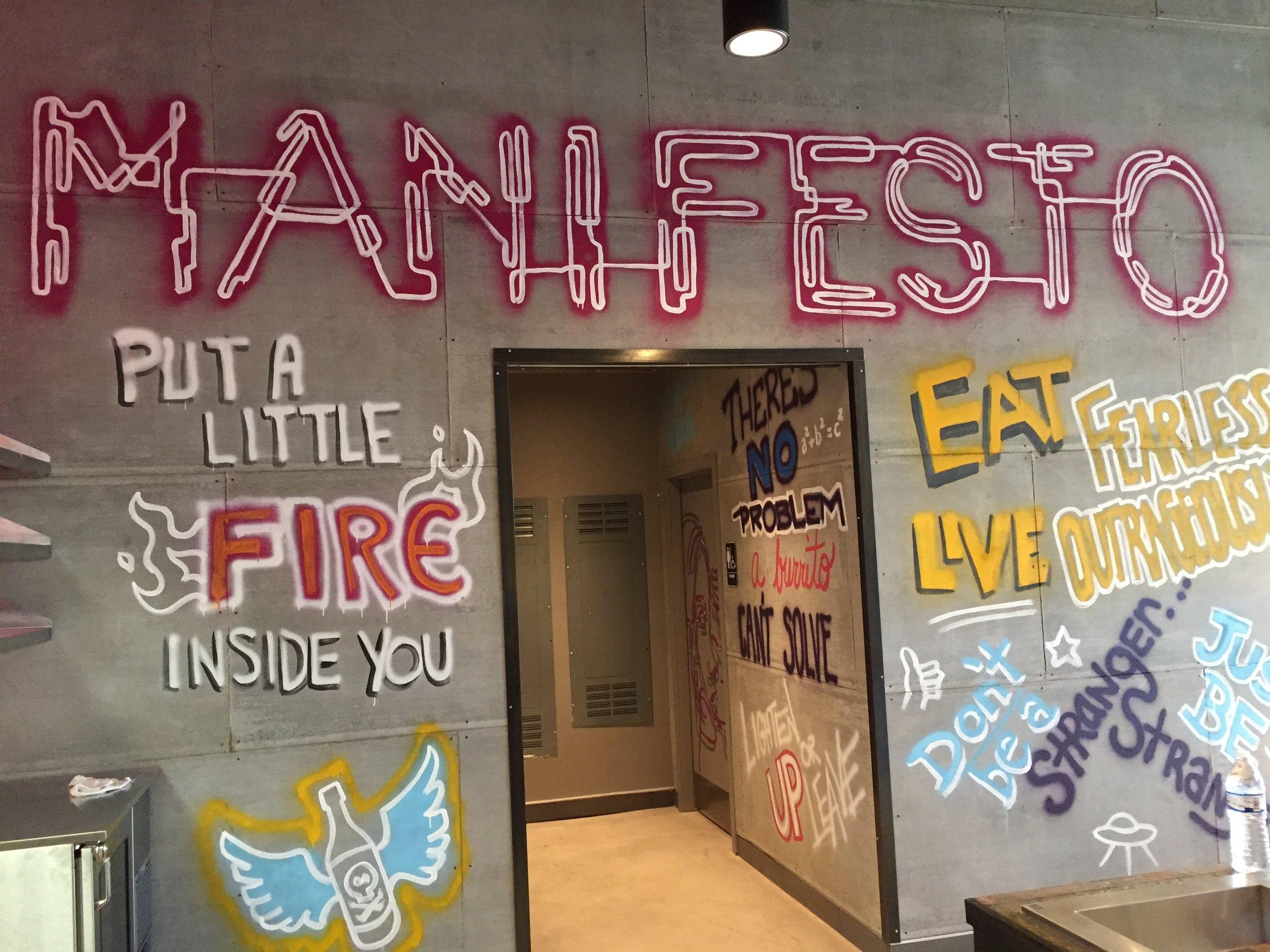 Manifesto Wall