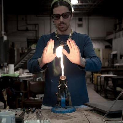 Joe-Sherry-Handblown-Glass-Glassblower