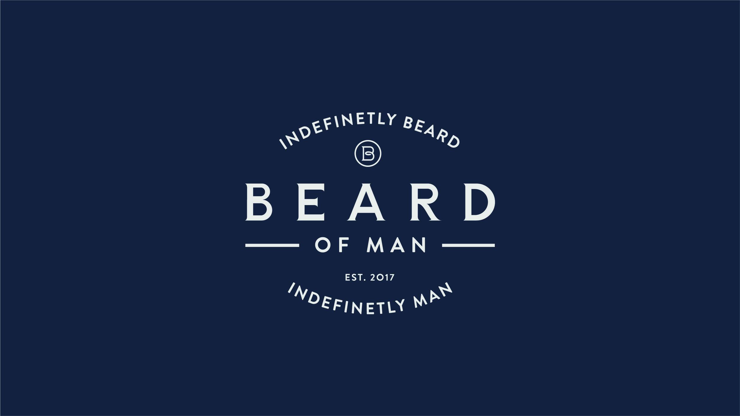 Beard Of Man Company Rebrand.