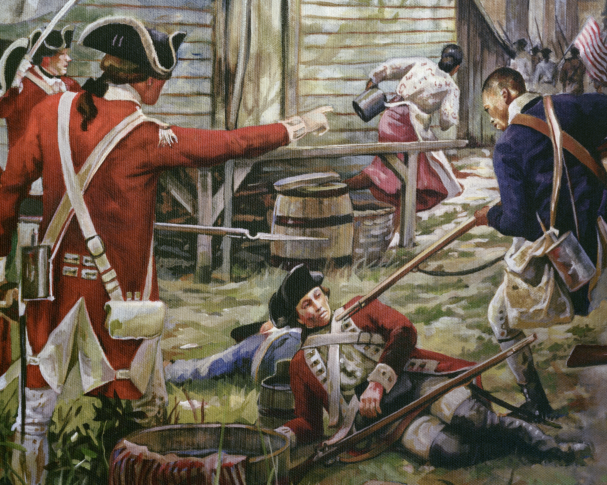 Revolutionary War Detail