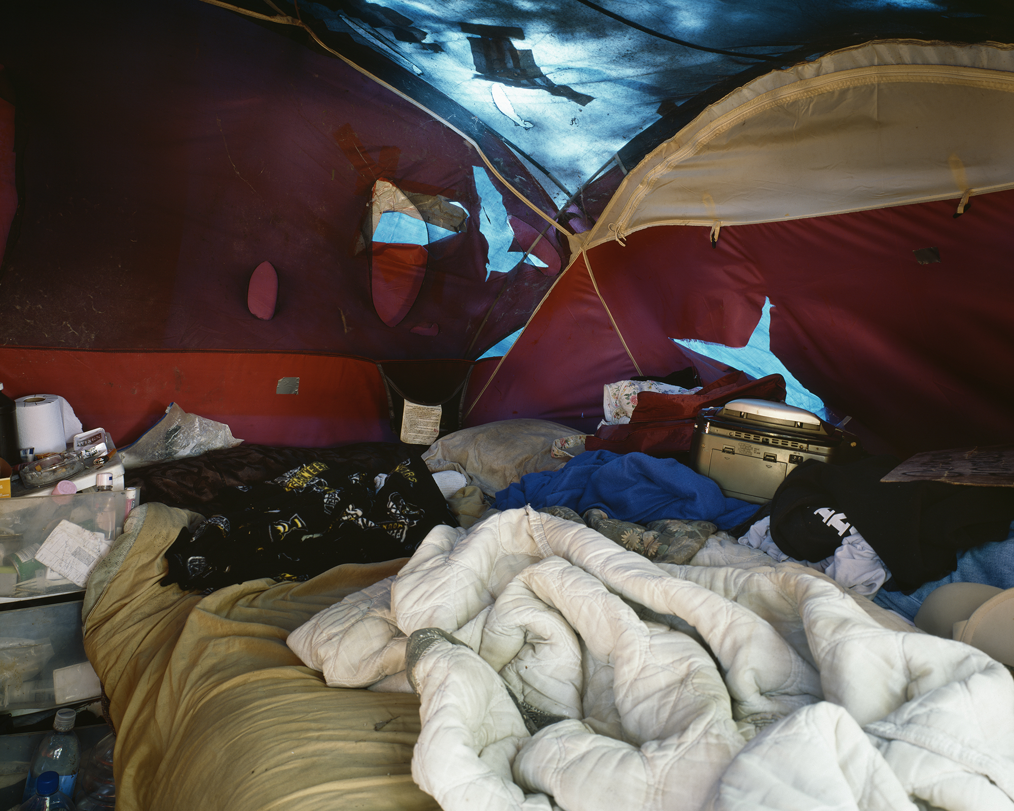 Lee and Deano's Tent