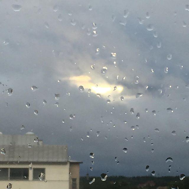 #glimpseofhope #sunhole #cantstandtherainonmywindow