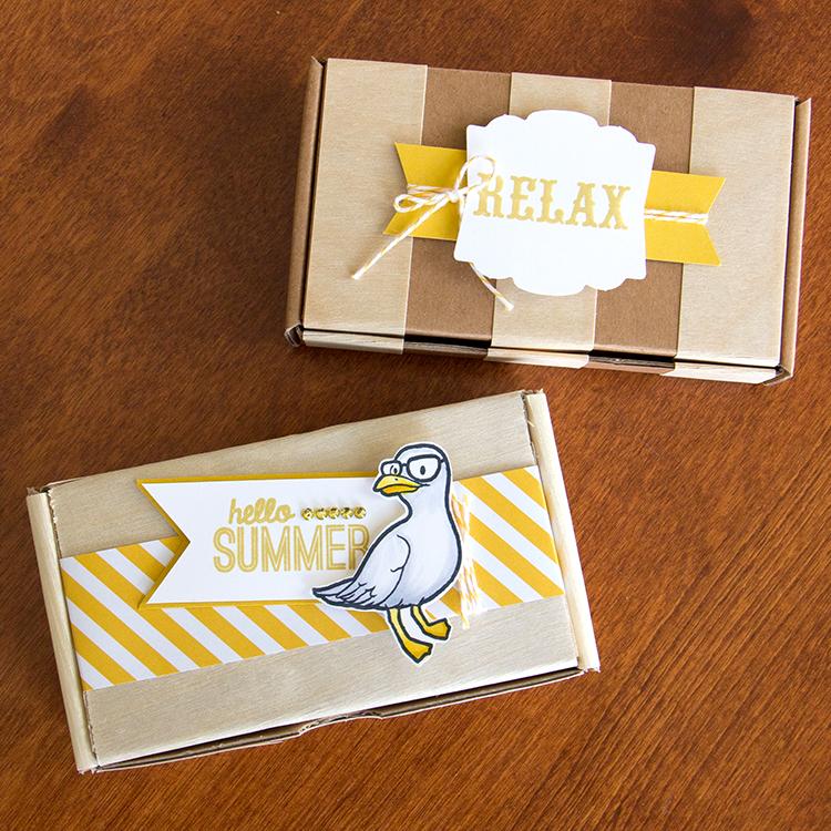 Beach Mae boxes