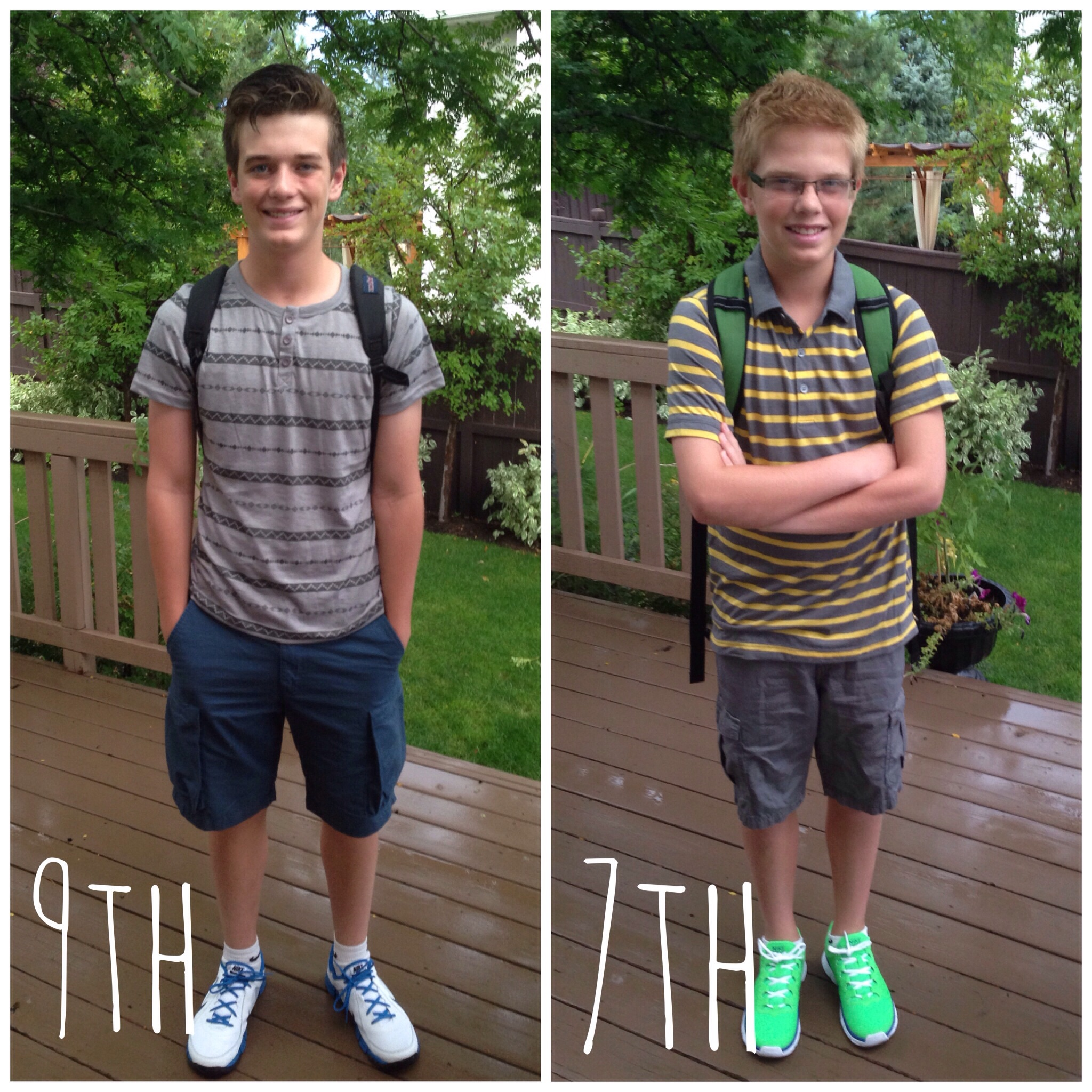 Boys 1st day if school 2014