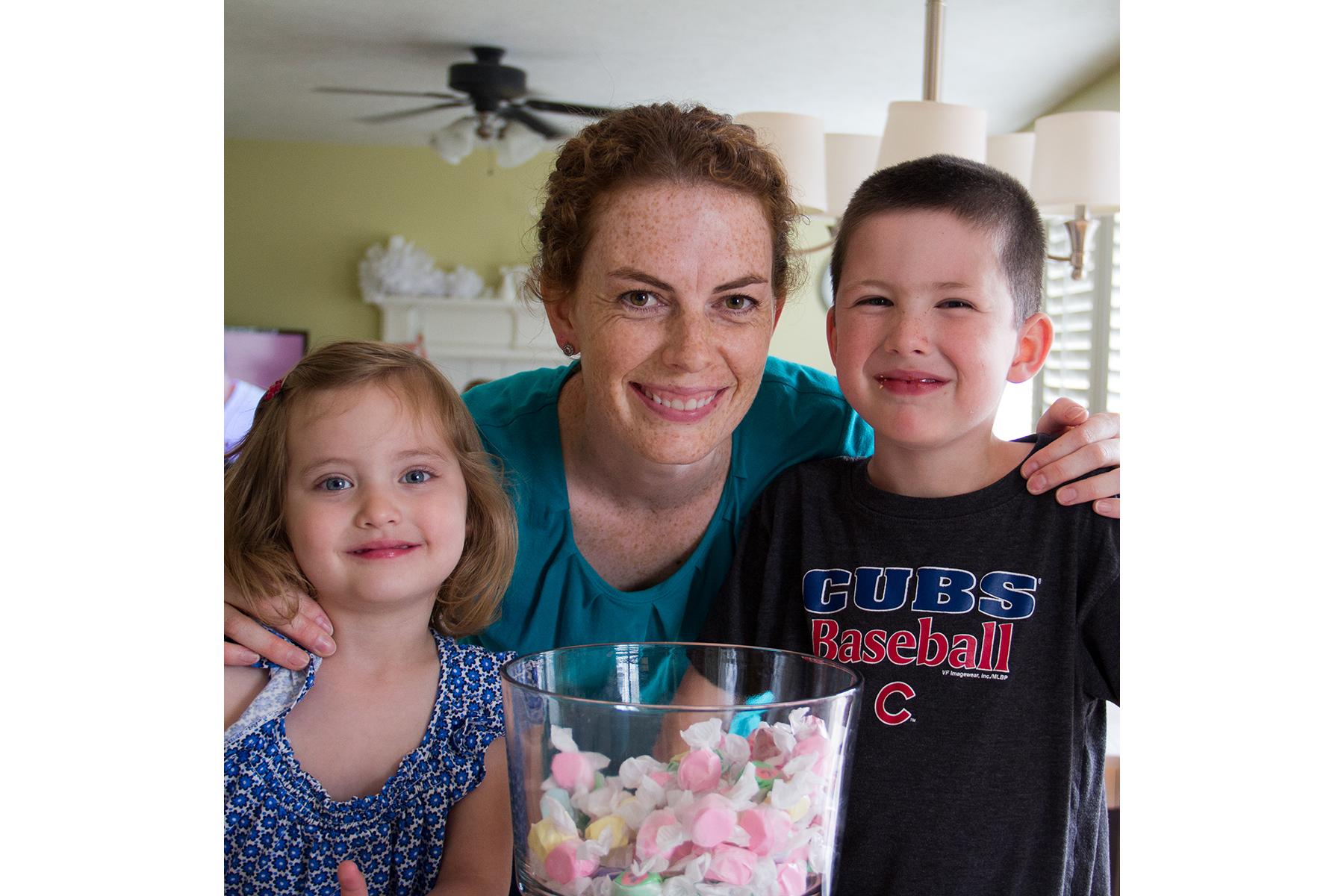 Sarah and kiddos
