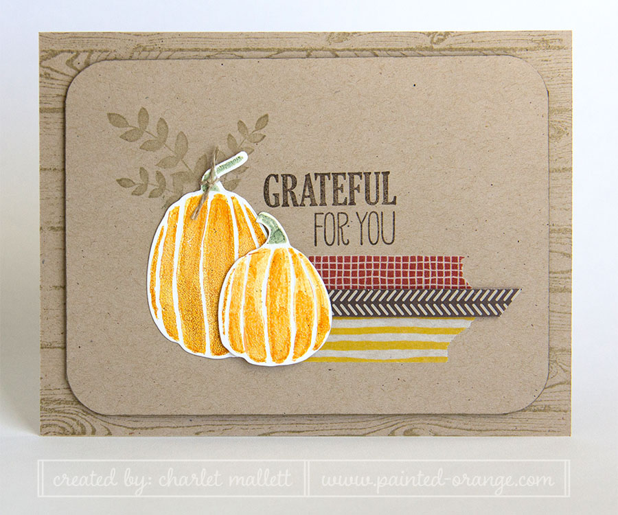 Fall Fest, For All Things - Grateful for You Card