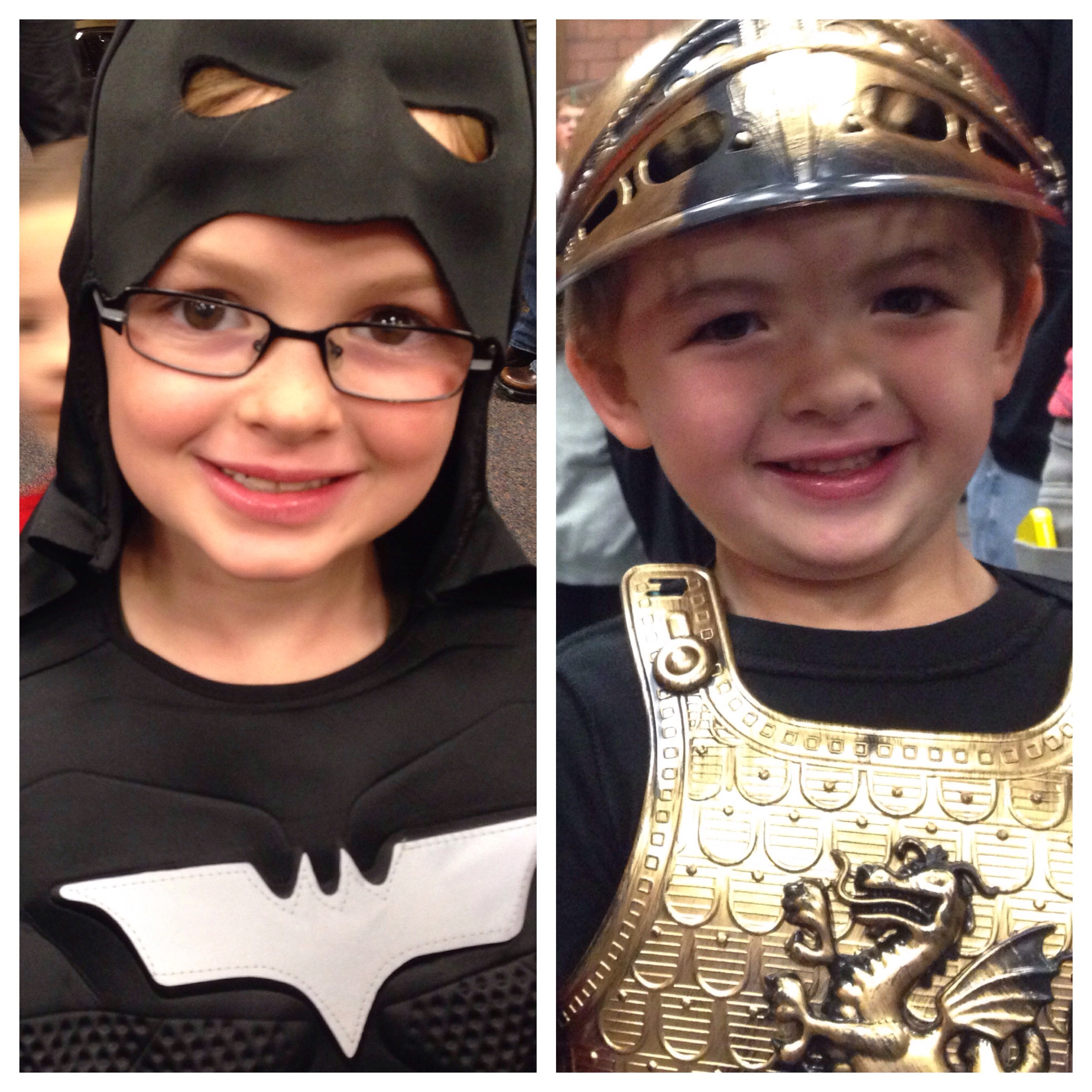 Cousins - Dark Knight and a Knight
