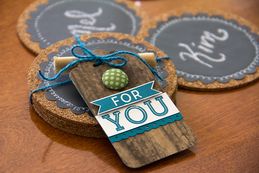 ChalkTalk Coasters for ARC Crafts