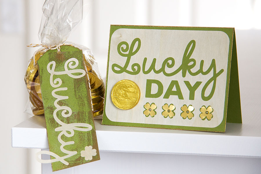 Lucky Day Card and Tag