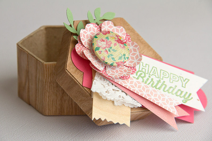 Happy Birthday BARC Wood gift box