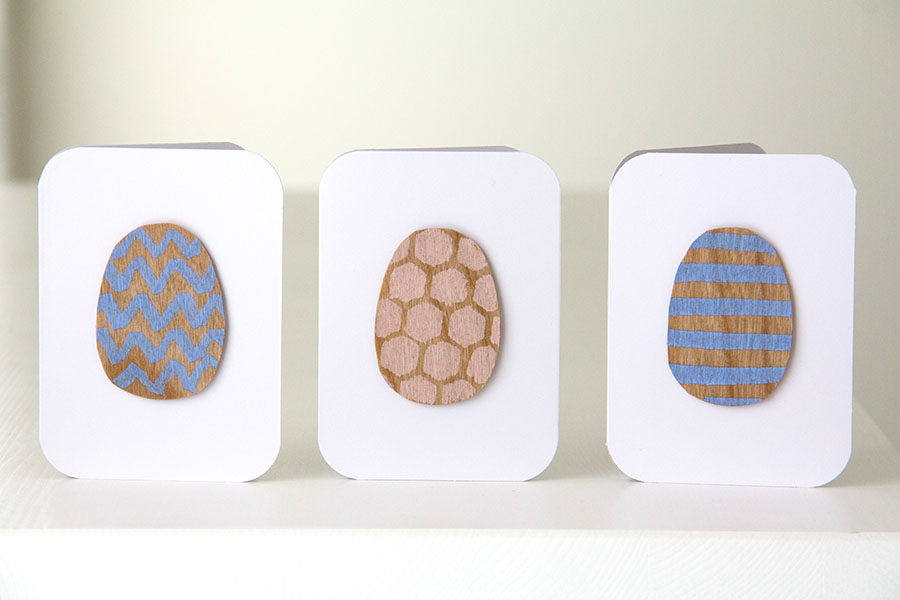 Simple Egg Cards