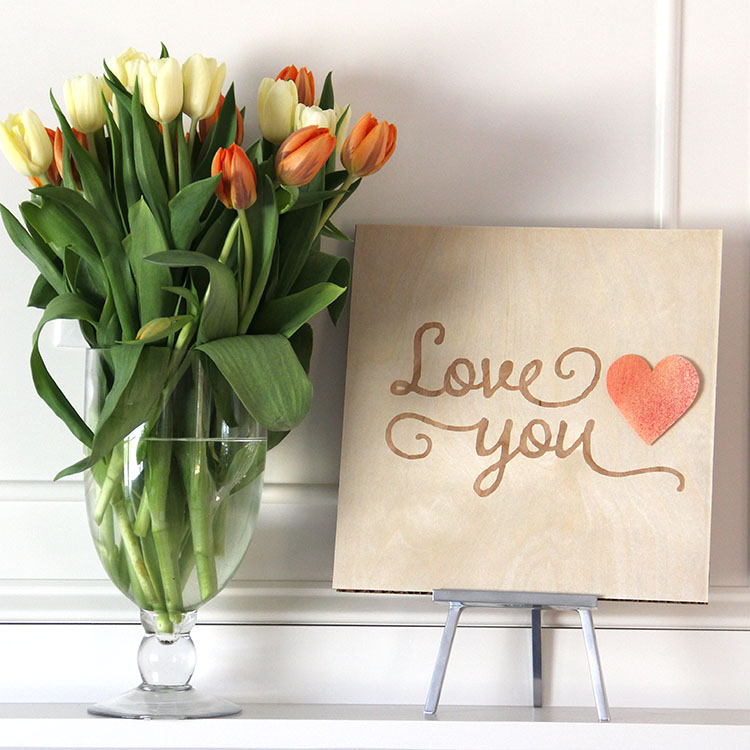 Love You Home Art Decor