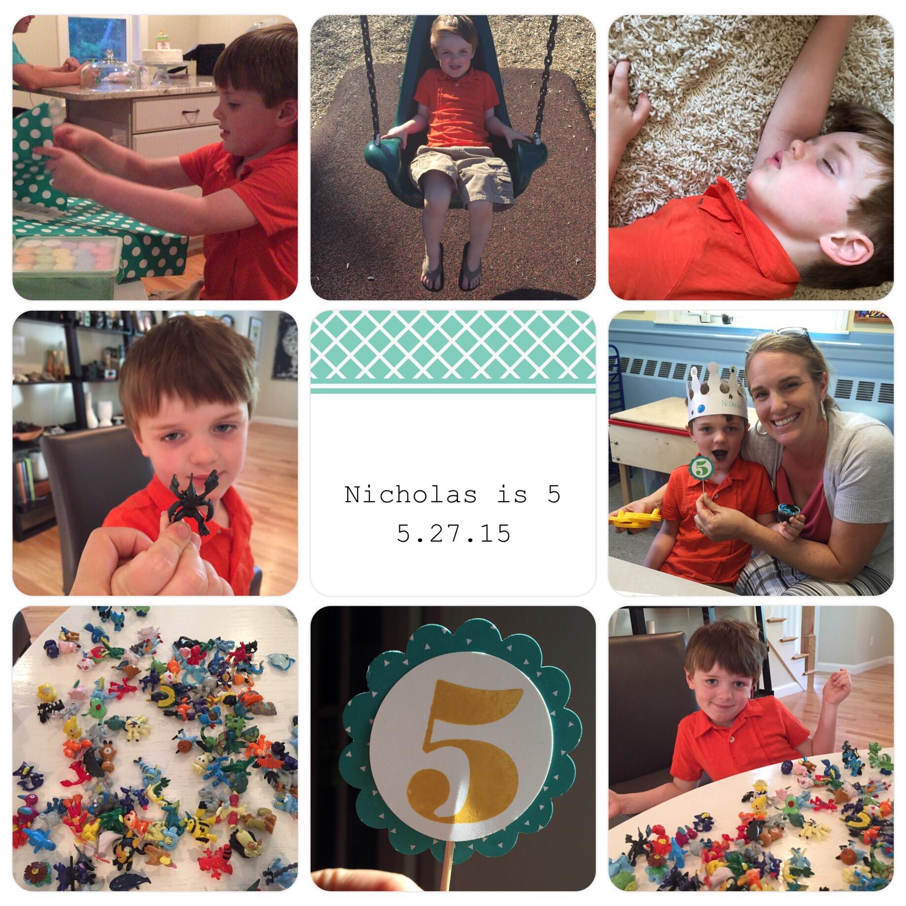 Nicholas 5th birthday