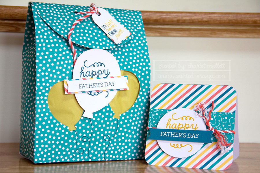 Birthday Bundle package and card - May 2015 Paper Pumpkin