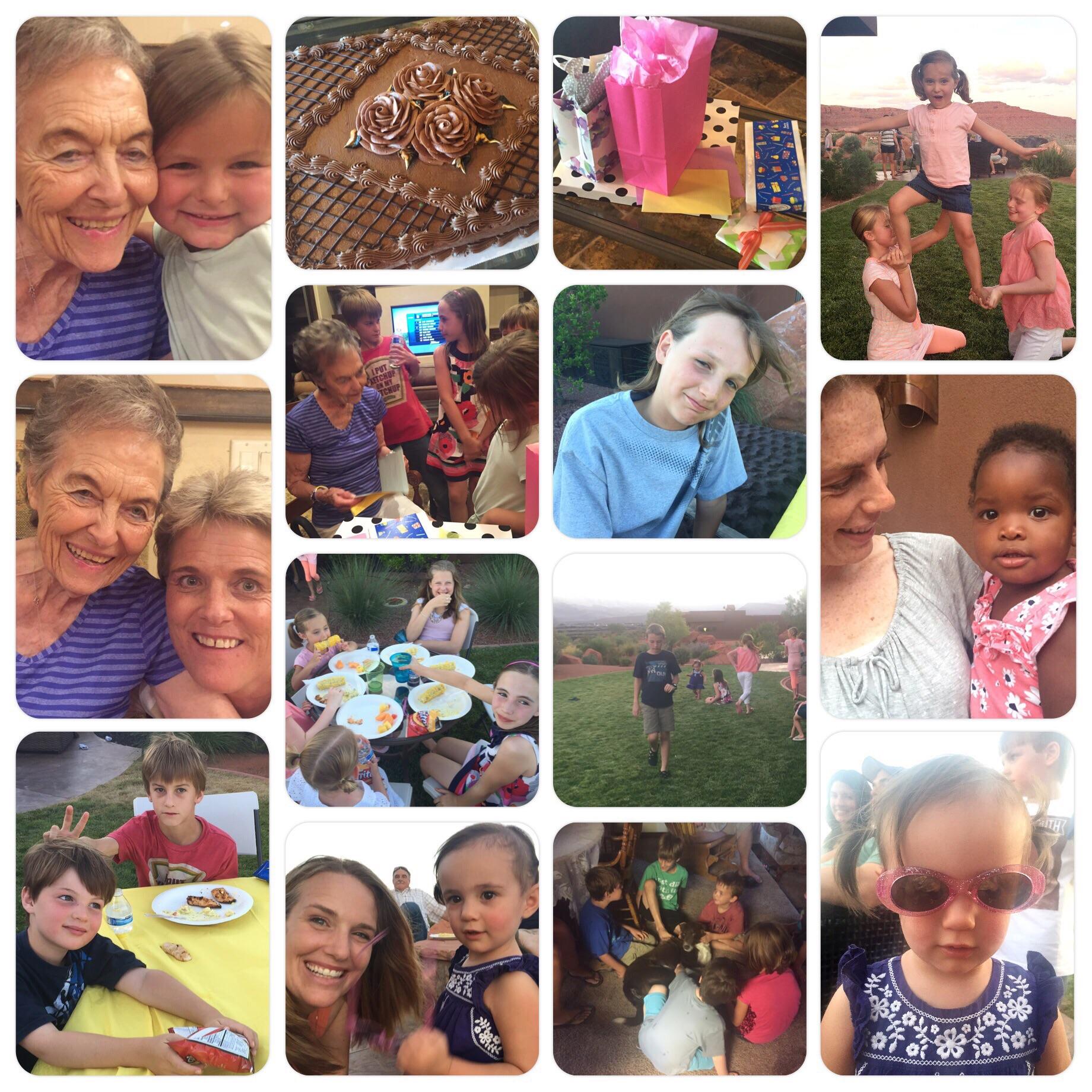 Grandma LaRue's 85th Birthday party