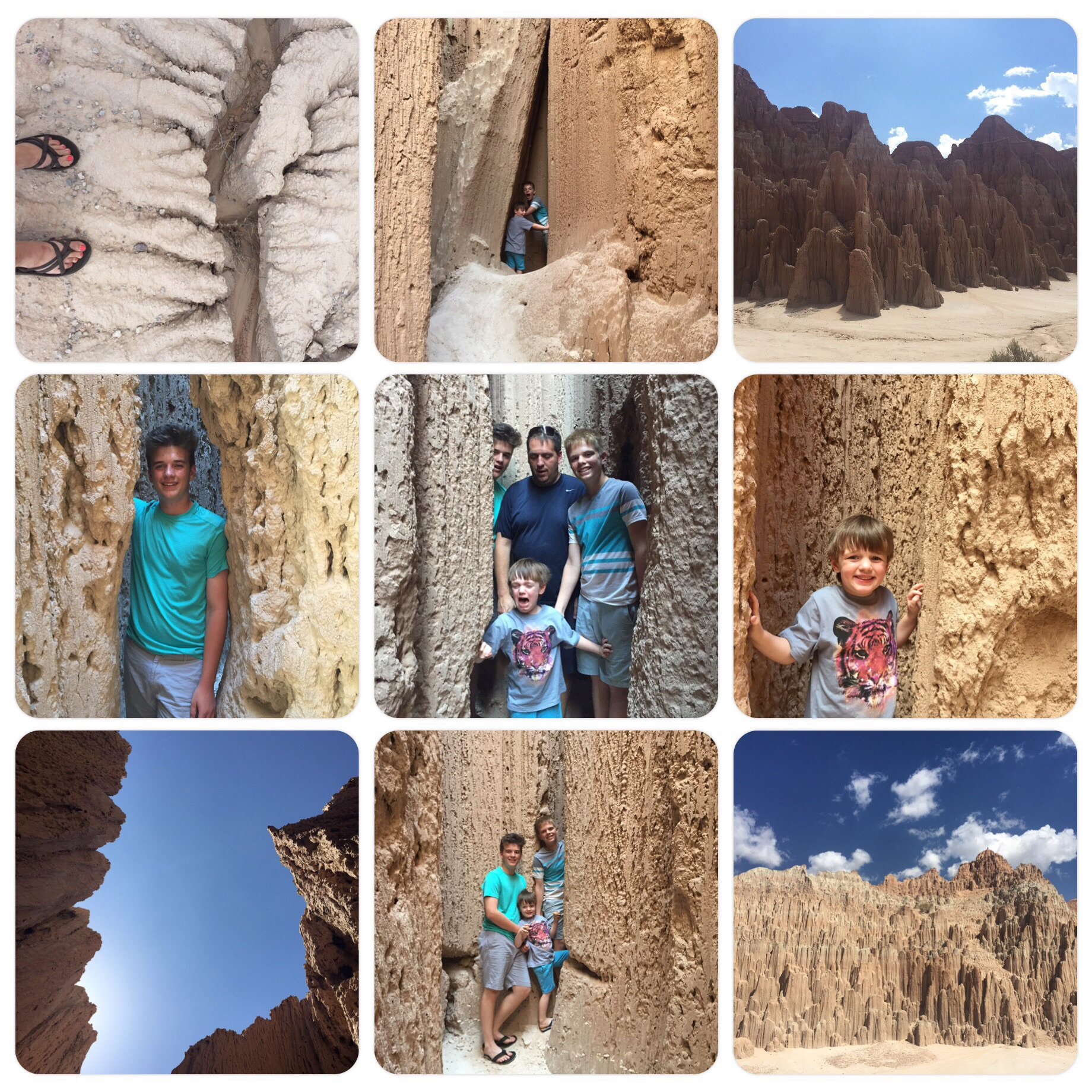 Cathedral Gorge July 2015