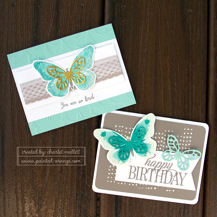 Watercolor Wings and Happy Birthday Everyone