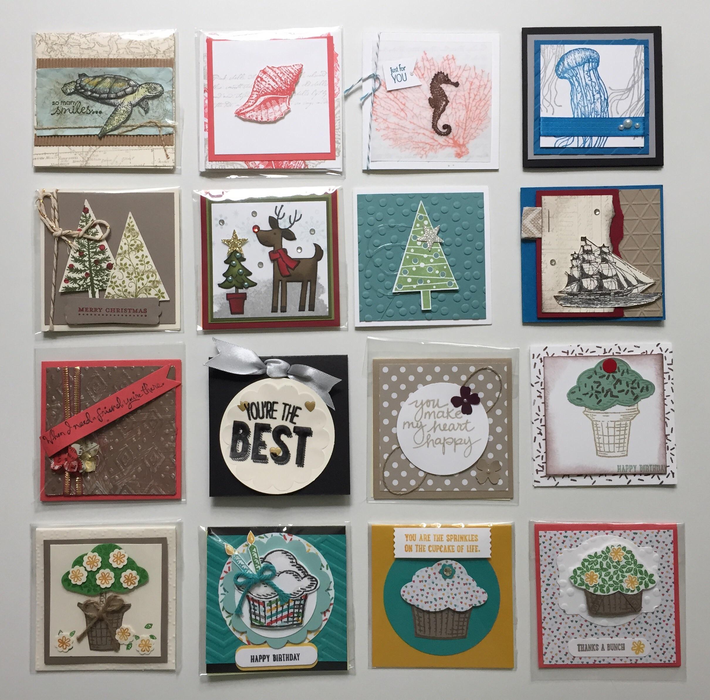 3x3 Sprinkles of Life, Christmas and Nautical...